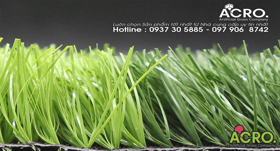 Giá cỏ nhân tạo sân bóng