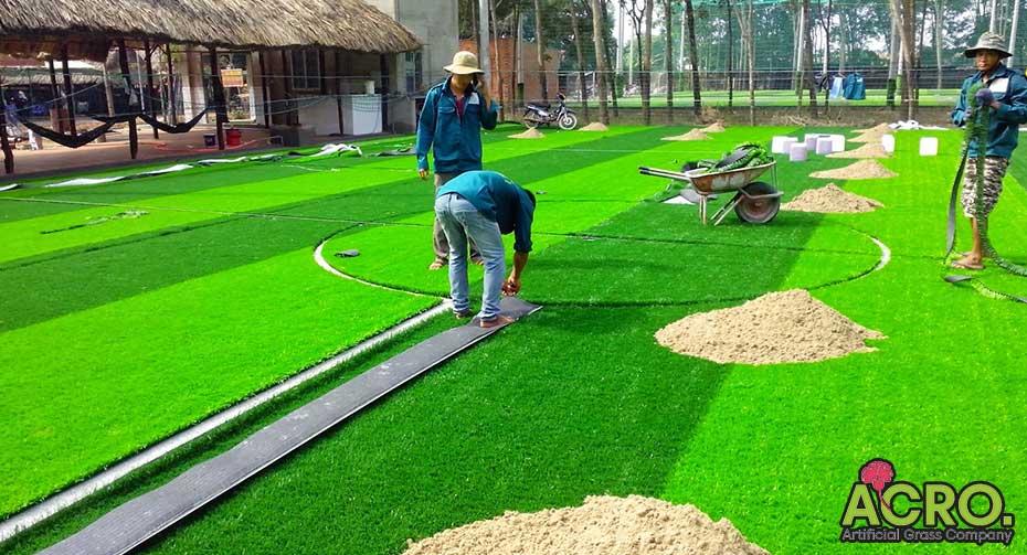 Giá sân cỏ nhân tạo 7 người