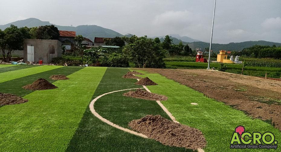 Bảo dưỡng sân cỏ