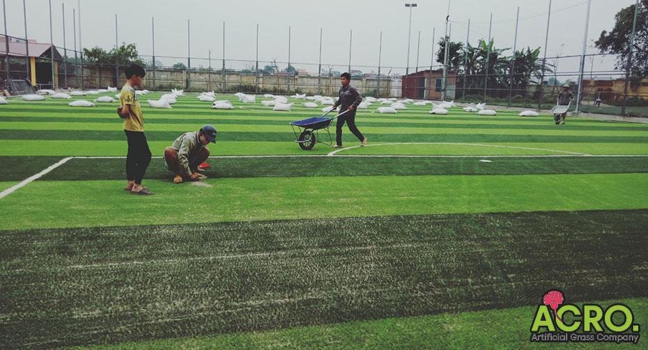 Cách kinh doanh sân cỏ nhân tạo