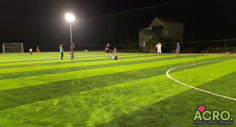 Đầu tư sân bóng cỏ nhân tạo