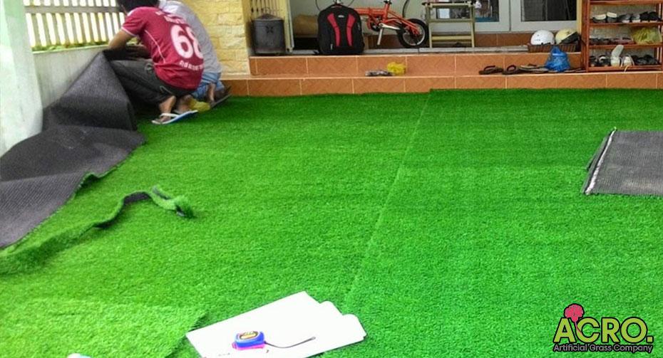 Giá thảm cỏ nhân tạo trải sàn