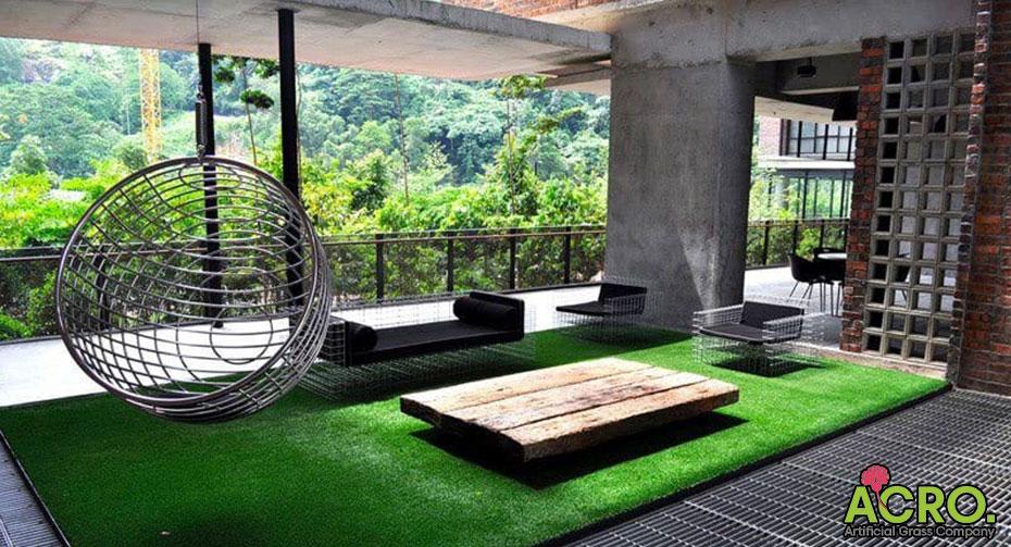 Thảm cỏ nhân tạo trong nhà giá rẻ