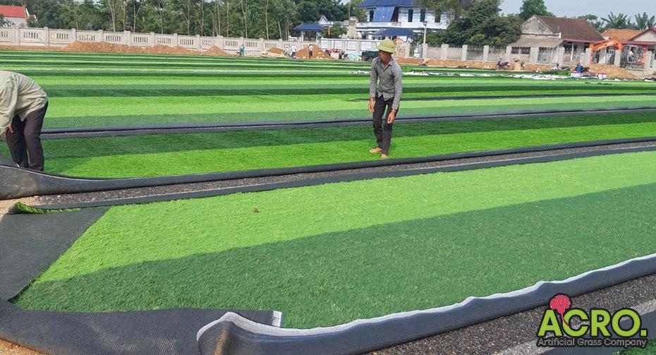 Giá thi công sân bóng đá cỏ nhân tạo