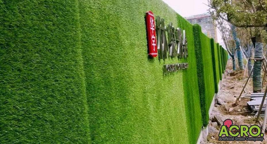 Giá thảm cỏ nhân tạo dán tường