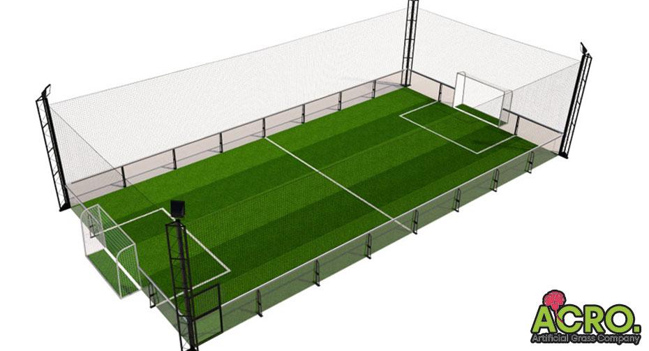 Mô hình sân bóng đá mini