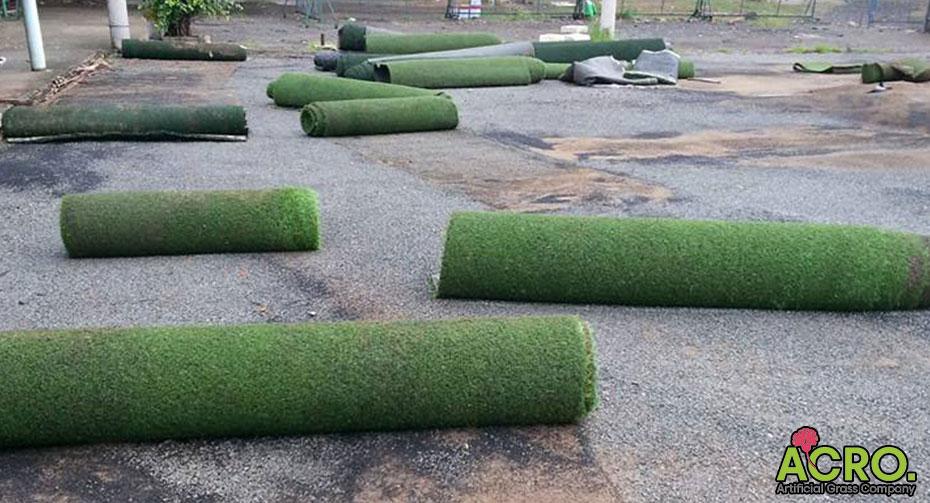 Bán thảm cỏ cũ