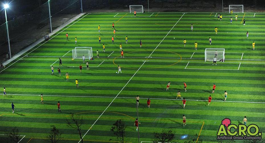 Đầu tư sân bóng đá cỏ nhân tạo