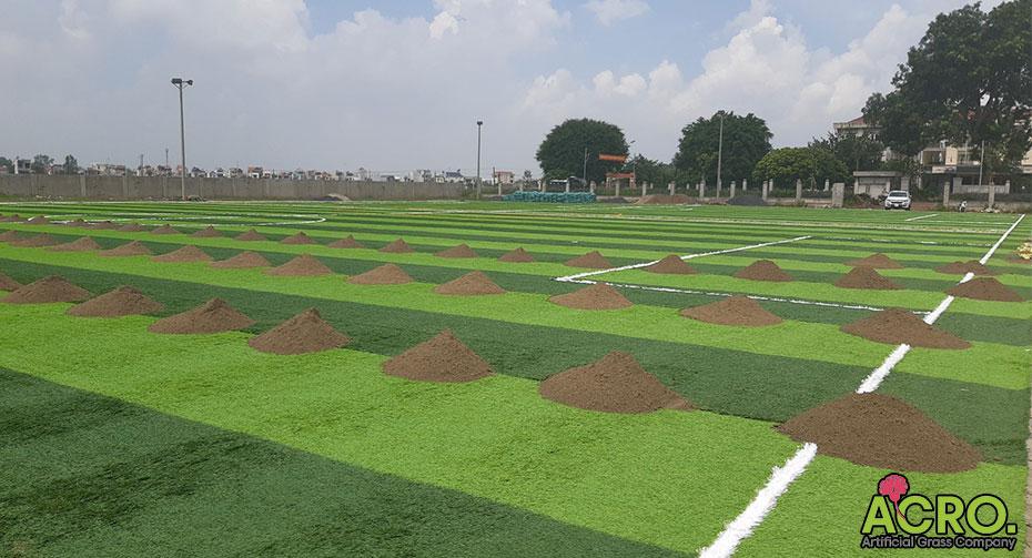 Dự toán làm sân bóng đá cỏ nhân tạo