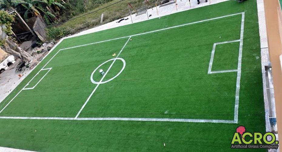 thiết kế sân bóng mini